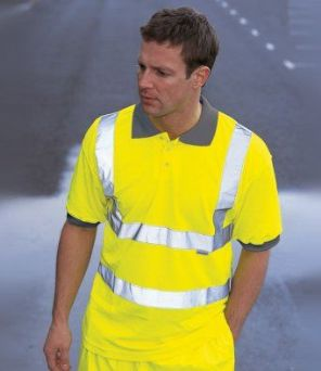 WD043 Dickies Hi-Vis Polo Shirt